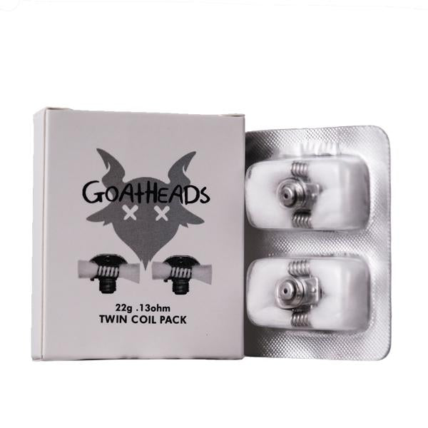 GOAT Heads Twin Coil Pack - 22g .13 Ohm