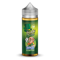 Apple Stripes E-Liquid by Paddy Juice 100ml Short Fill