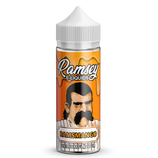Ramsmango E-Liquid by Ramsey E-Liquids 100ml Short Fill