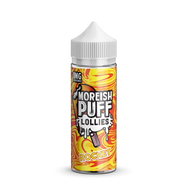 Moreish Puff Lollies Rocket 0mg 100ml Short Fill E-Liquid