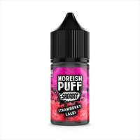 STRAWBERRY LACES SHERBET BY MOREISH PUFF 0MG SHORT FILL - 25ML
