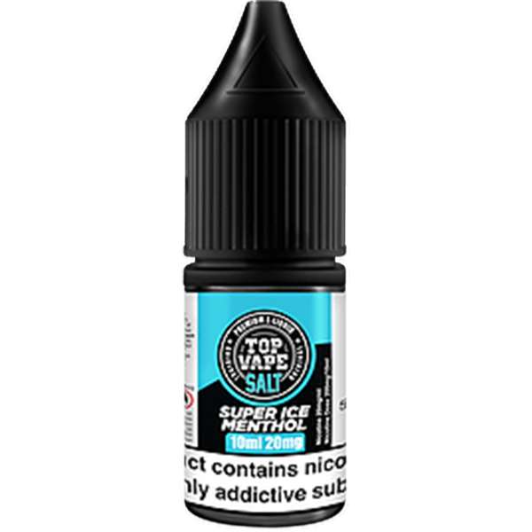 Top Vape Super Ice Menthol 10ml Nic Salt E-Liquid
