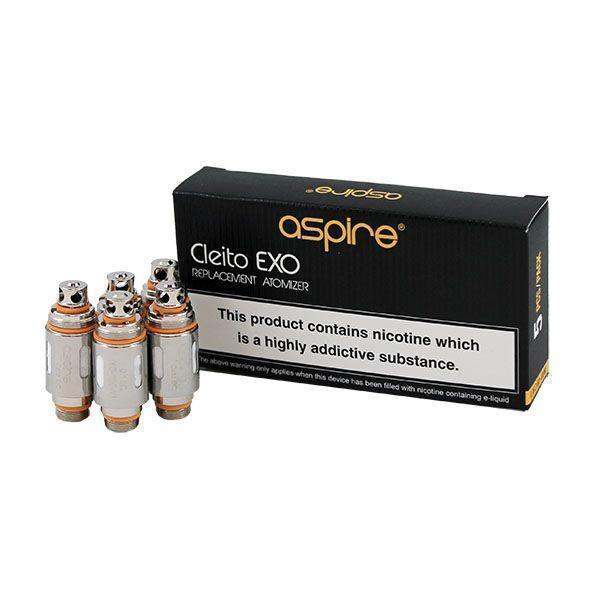 Aspire Cleito Exo Replacement Coils - 5 Pack