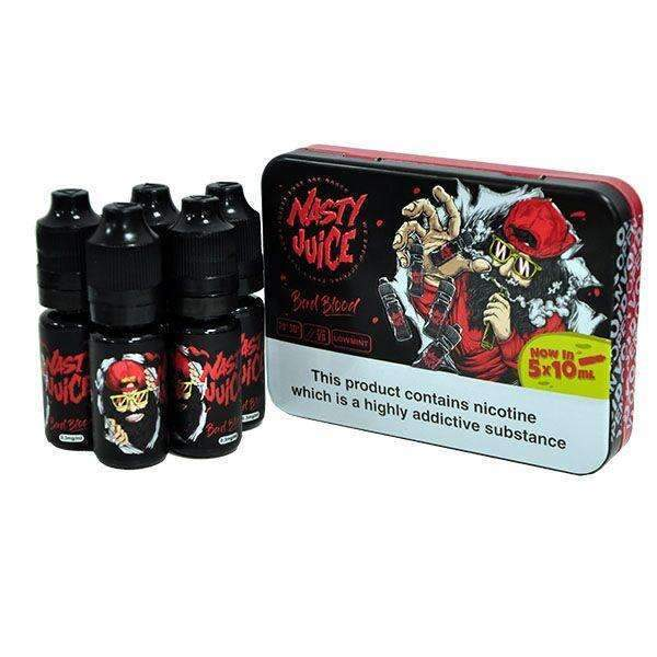 Bad Blood By Nasty juice TPD Compliant E-Liquid - 5x10ml