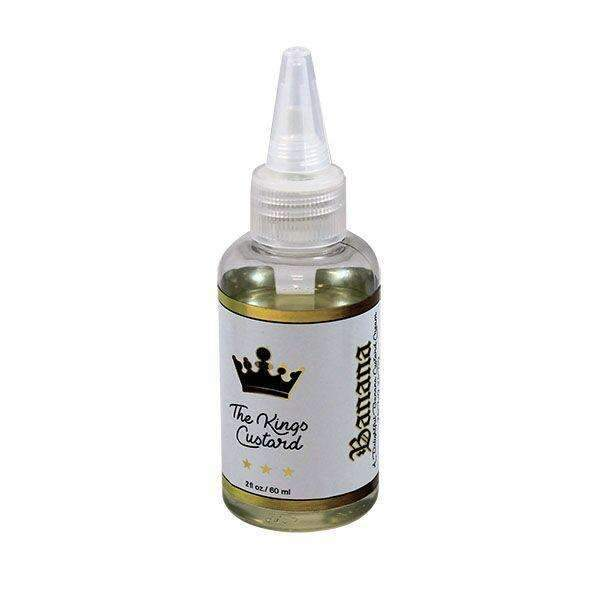The Kings Custard Banana 0mg 50ml Short Fill E-Liquid