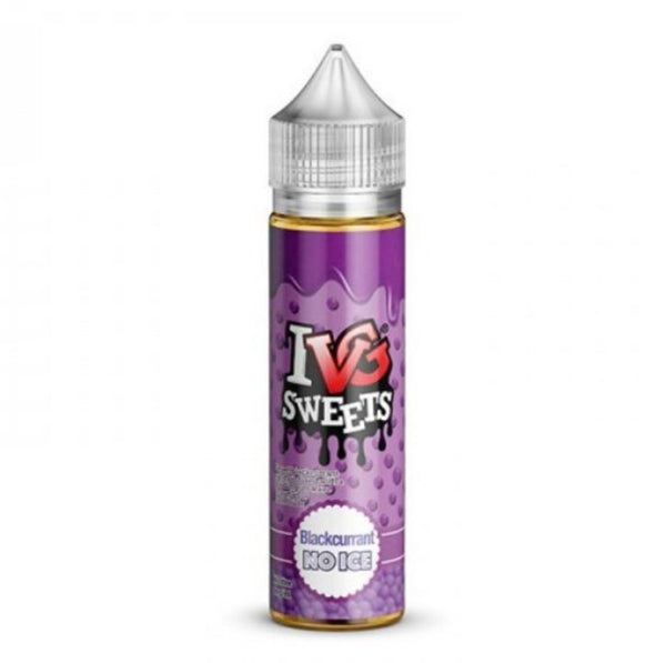 IVG Select: Blackcurrant No Ice 0mg 50ml Short Fill E-Liquid