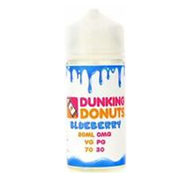 Dunking Donuts Blueberry 0mg 80ml Short Fill E-Liquid