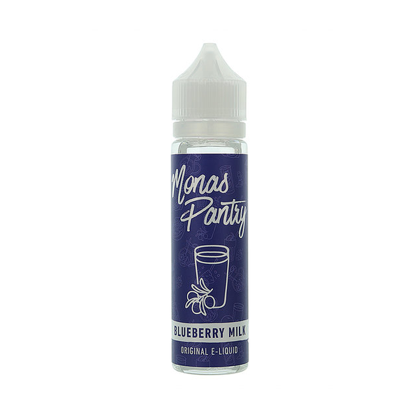 Monas Pantry Blueberry Milk 0mg 50ml Short Fill E-Liquid