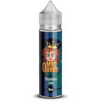 Blueberry Jam E-Liquid by Mad Queen 50ml Short Fill