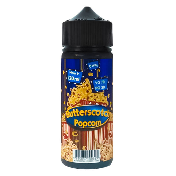 Fizzy Butterscotch 0mg 100ml Short Fill E-Liquid