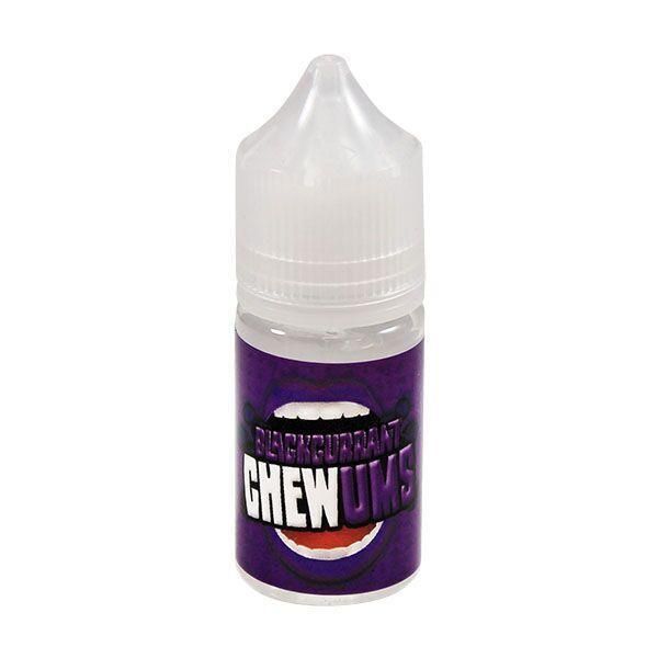 Chewums Blackcurrant 0mg 25ml Short Fill E-Liquid