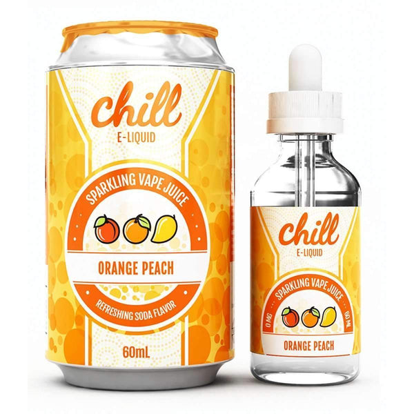 Chill E-Liquid Orange Peach 0mg 60ml Short Fill E-Liquid
