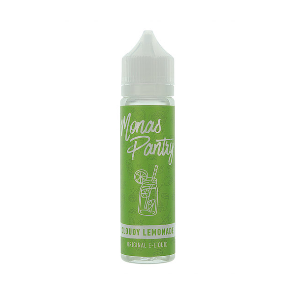 Monas Pantry Cloudy Lemonade 0mg 50ml Short Fill E-Liquid