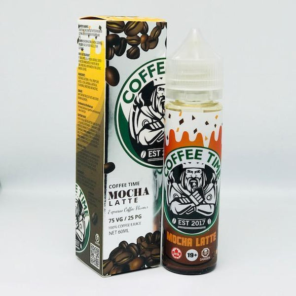 Java Frappe by Coffee Time Shortfill - 50ml
