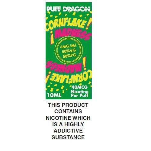 Puff Dragon Cornflake Madness 10ml E-Liquid