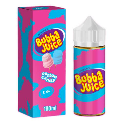 Cotton Candy Bubba Juice By Juice Man USA 0mg Shortfill 100ml