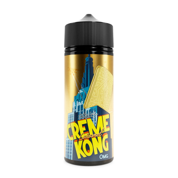 Retro Joes Creme Kong Caramel 0mg 100ml Short Fill E-Liquid