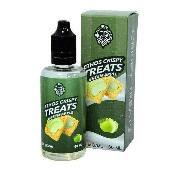 Ethos Crispy Treats Green Apple Crispy Treats 0mg 50ml Short Fill E-Liquid
