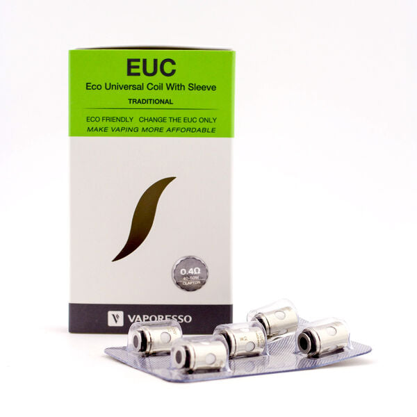 Vaporesso EUC Eco Universal Coil Traditional 5pck with 1 Sleeve