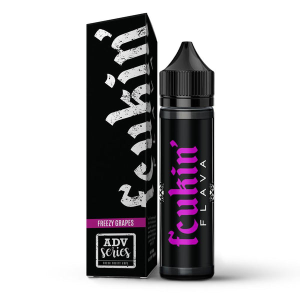 Fcukin Flava Freezy Grapes 50ml 70VG/30PG Short fill 0mg E-liquid