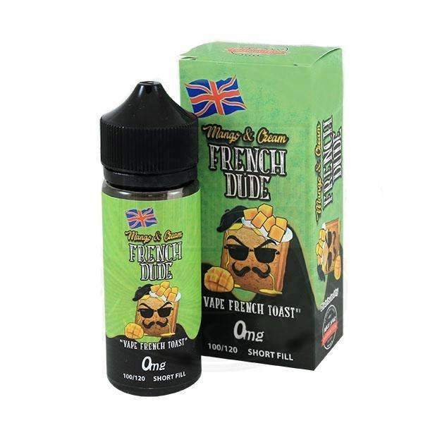 Vape Breakfast Classics French Dude Mango & Cream 0mg 100ml Short Fill E-Liquid
