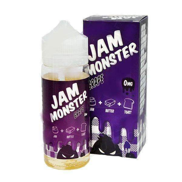 Jam Monster Grape 0mg 100ml Short Fill E-Liquid