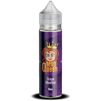 Grape Menthol E-Liquid by Mad Queen 50ml Short Fill