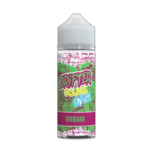 Drifter Sours Rhubarb E-Liquid by Juice Sauz on Ice 100ml Short Fill