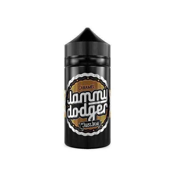 Just Jam Caramel Jammy Dodger 0mg 80ml Short Fill E-Liquid