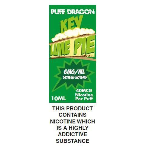 Puff Dragon Key Lime Pie 10ml E-Liquid
