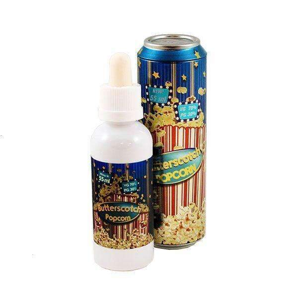 Fizzy Butterscotch Popcorn 0mg 55ml Short Fill E-Liquid