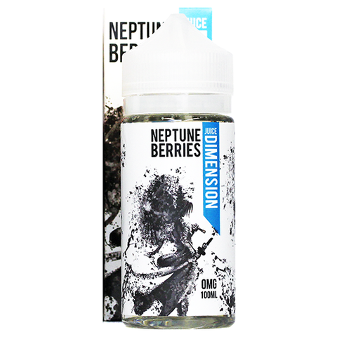 Neptune Berries E-Liquid by Juice Dimension 100ml Short Fill