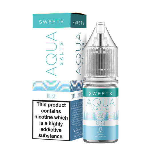Marina Vape Aqua Sweets: Rush Nic Salt 10ml 20mg