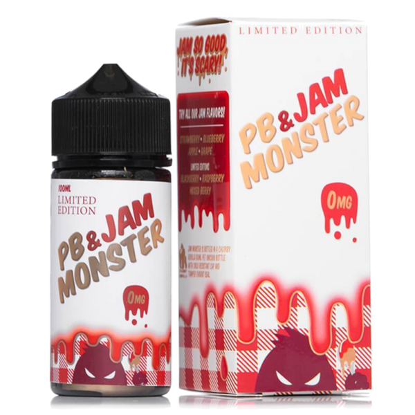 PB & Jam Monster E-Liquid 0mg Shortfill - 100ml