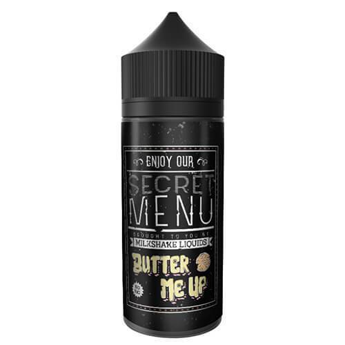 Milkshake Secret Menu Butter Me Up 0mg 50ml Short Fill E-Liquid