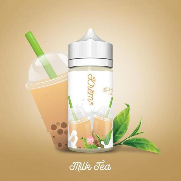 Skwezed Krem Milk Tea 0mg 100ml Short Fill E-Liquid