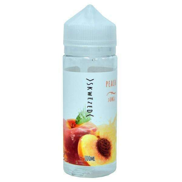 Skwezed Peach 0mg 100ml Short Fill E-Liquid