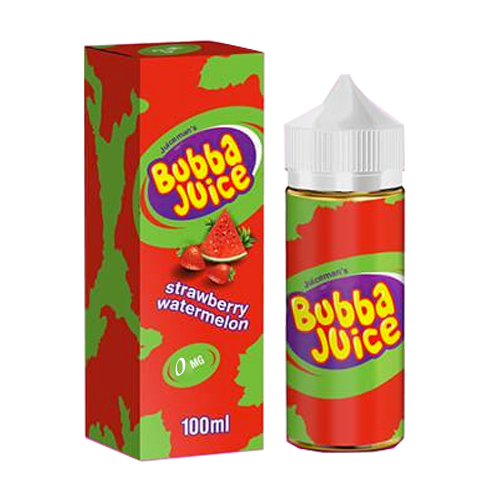 Strawberry Wtermelon Bubba Juice By Juice Man USA 0mg Shortfill 100ml