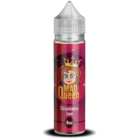 Strawberry Jam E-Liquid by Mad Queen 50ml Short Fill