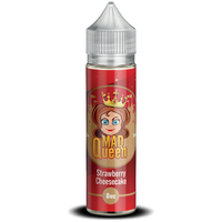 Strawberry Cheesecake E-Liquid by Mad Queen 50ml Short Fill