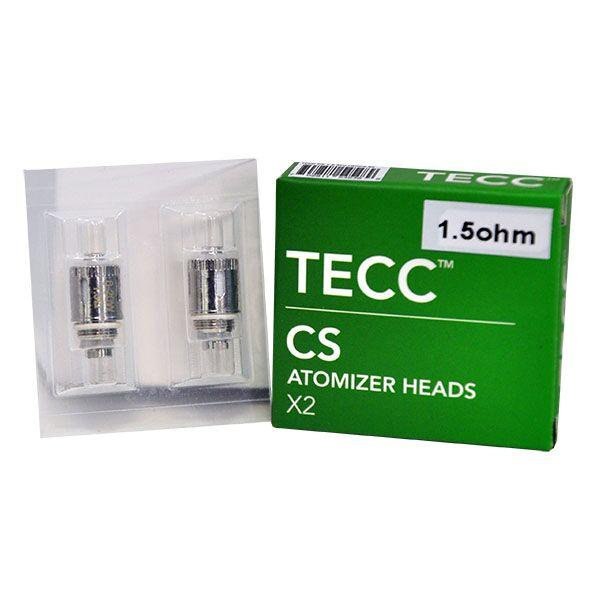 Tecc Cs Air Atomizer Heads 1.5oh - 2pk