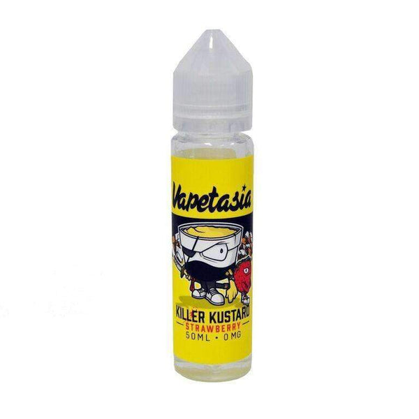 Vapetasia Killer Kustard Strawberry 0mg 50ml Short Fill E-Liquid