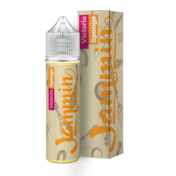My Vapery Jammin: Victoria Sponge 0mg 50ml Short Fill E-Liquid