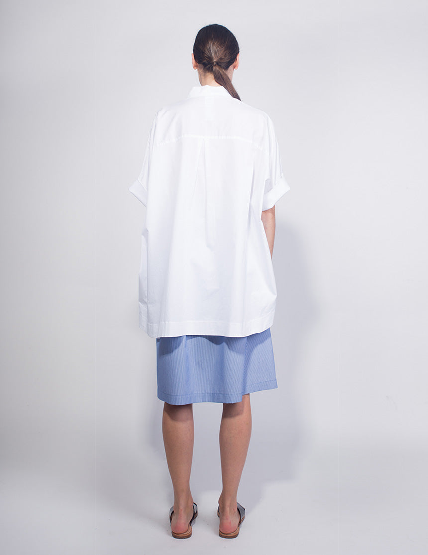 FOLDED TUNIC - Twotone