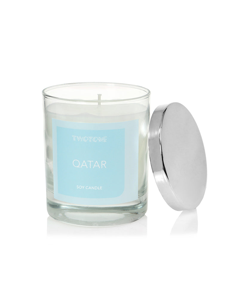 QATAR - Natural soy candle - Twotone