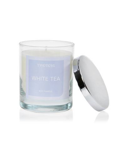WHITE TEA - Natural soy candle - Twotone