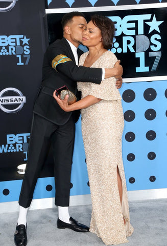 Chance the Rapper & his Mommy! - Photo Credit PopSugar