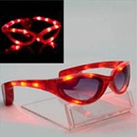 Future So Bright Shine Light-Up Shades (Red)