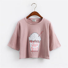 T-shirt Fashion · glace rose · Nomwa