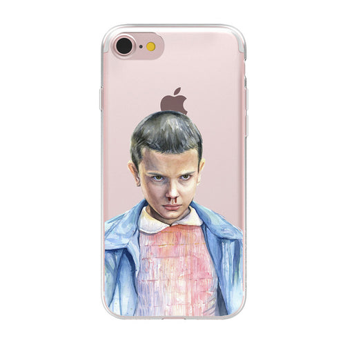 Coque iPhone Transparente Stranger Things
